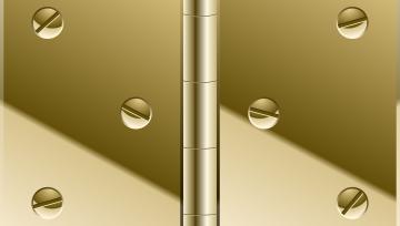 door hinges repair
