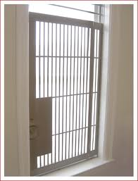 fire proof window gate