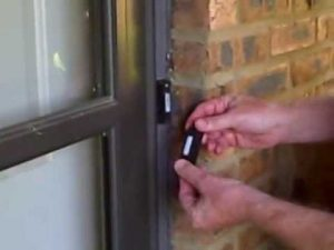 door chime installation