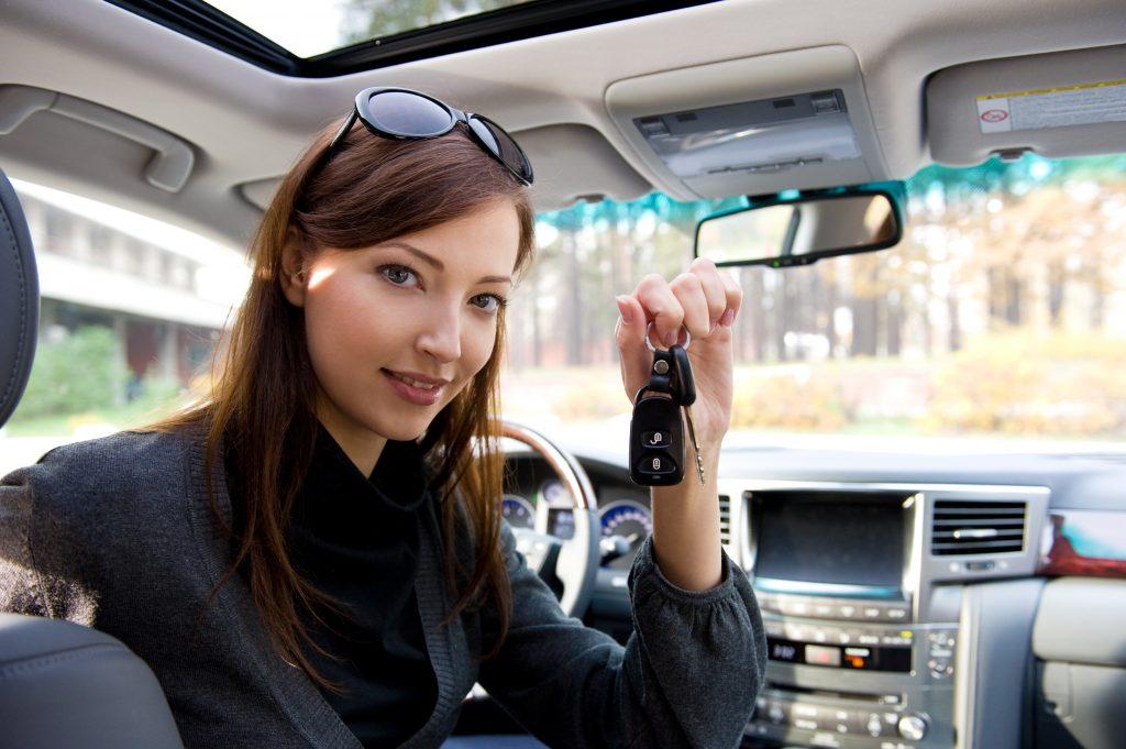 Successful Woman With Keys From Car Armor Locksmith