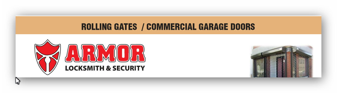 ROLLING GATES / COMMERCIAL GARAGE DOORS